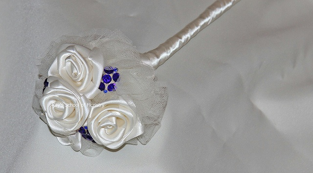 Titanic Brooch Bouquet  BY KAY'S SCHOOL OF FLORISTRY - www.kaysschool.com or visit our FACEBOOK PAGE - https://www.facebook.com/VintageBroochBouquet