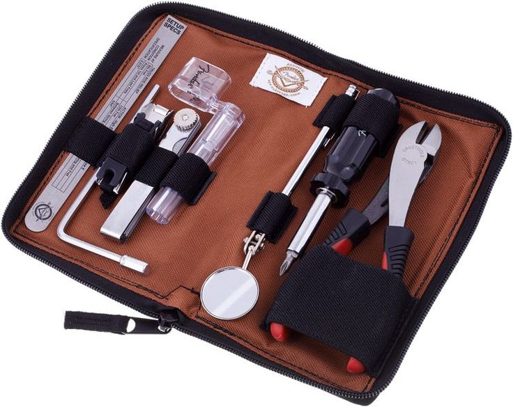 Fender Custom Shop Acoustic Tool Kit This kit contains all the basics for most minor adjustments, including a 1 thomann screwdriver