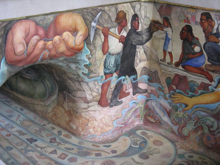 100 best images about frida kahlo diego rivera on for Arte mural en mexico
