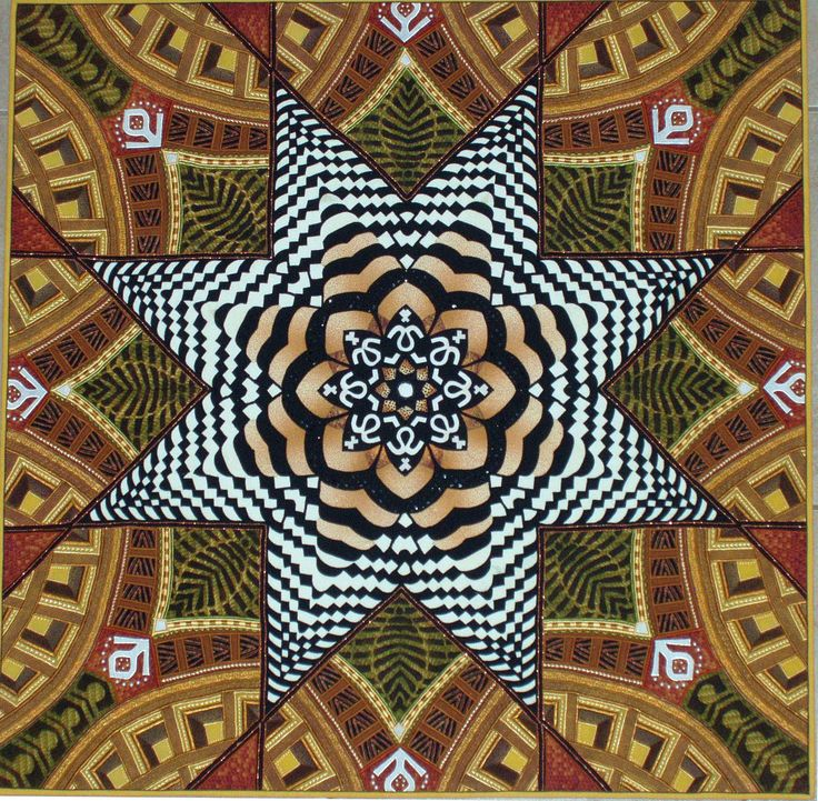2nd place 2014  Cathedral Star by Anna Faustino || Quilt Festivals and Antique Shows by Mancuso Show Management #Quiltfest #quilt #quilts #quilting #textiles #sewing #design #art