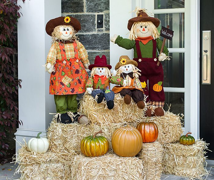 Scarecrow Fall Decorations - Home Decorating Ideas