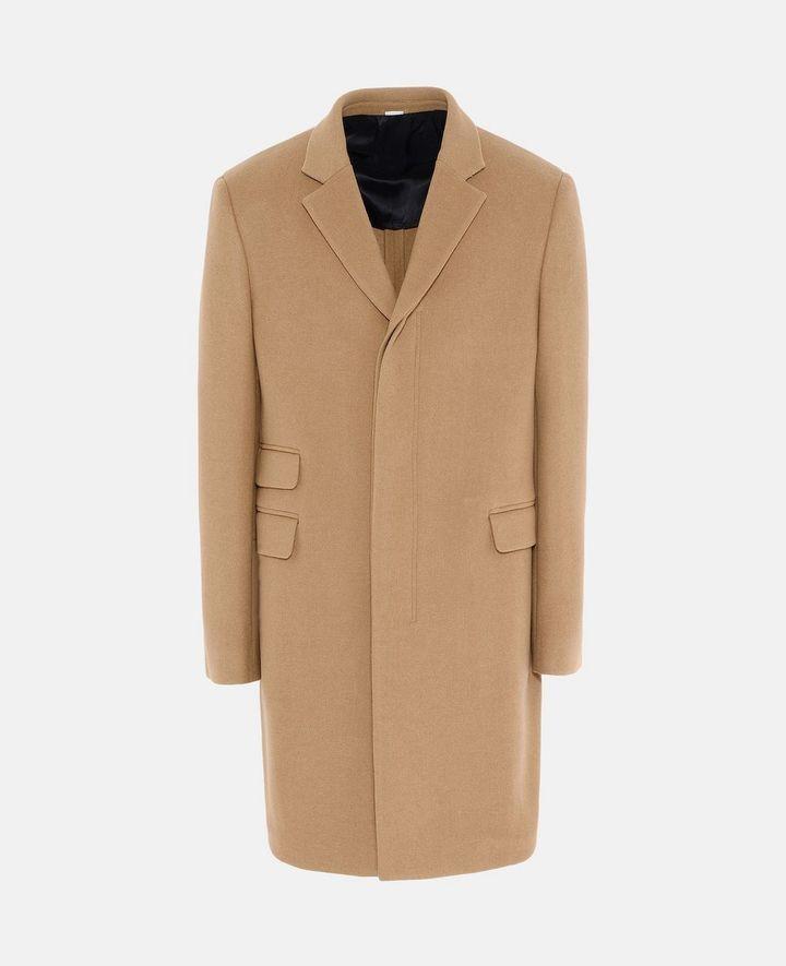 Stella McCartney camel wool overcoat