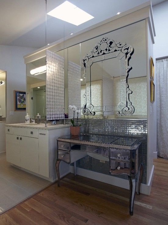Contemporary Bathroom Mirror Design Pictures Remodel Decor And Ideas