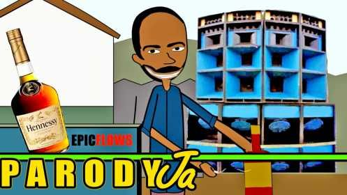 CARTOON of Crazy Jamaican Man Drinks A Whole Bottle Of Hennessy [Video] - http://www.yardhype.com/cartoon-of-crazy-jamaican-man-drinks-a-whole-bottle-of-hennessy-video/