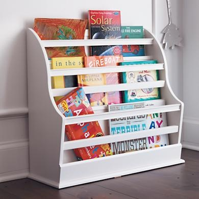 Our Floor Book Bin will be perfect next to the rocker, and as baby grows it'll be at just the right height for him to reach his favorite stories.