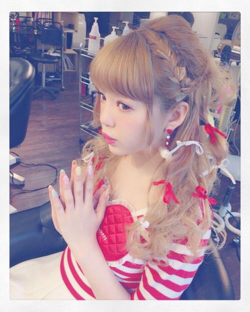 Coiffure Kawaii Cheveux Long Coiffures Populaires