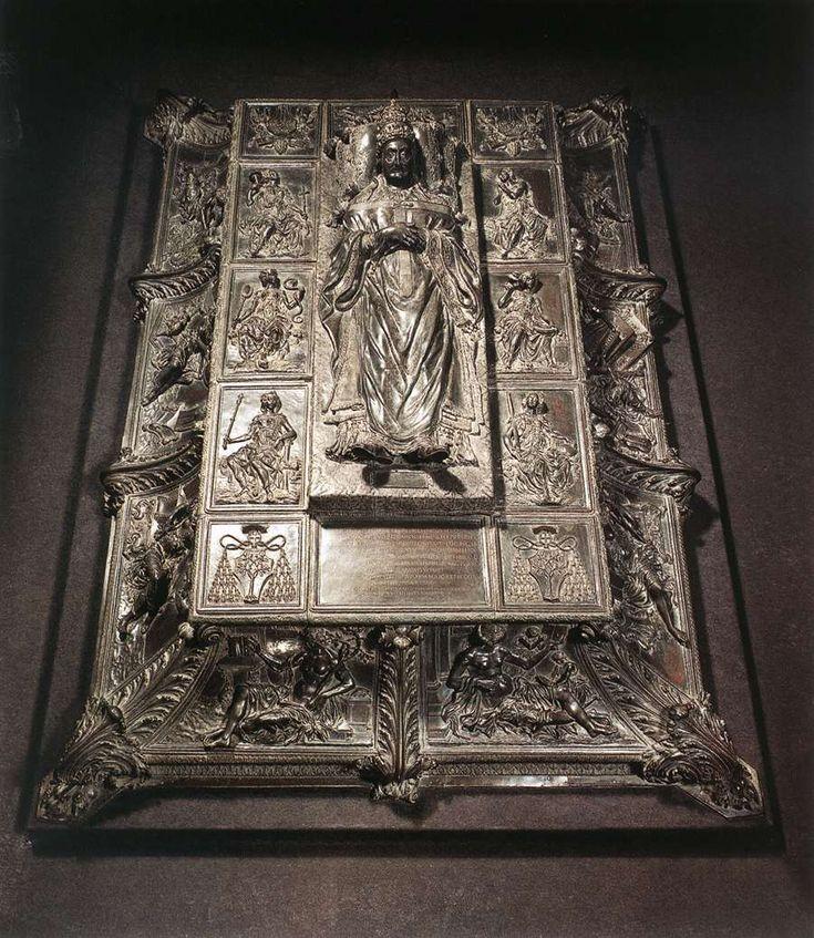 Bronze Monument Tomb Of Pope Sixtus IV Catacombs Saint