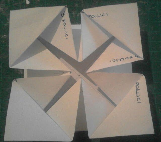 Napkin fold card