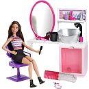 "Barbie -  Beauty Salon Doll & Playset - Mattel - Toys""R""Us"