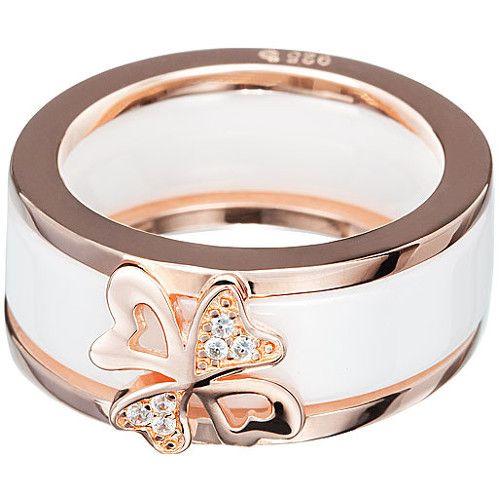 Preciosa Prsten Vogue White 5147P00