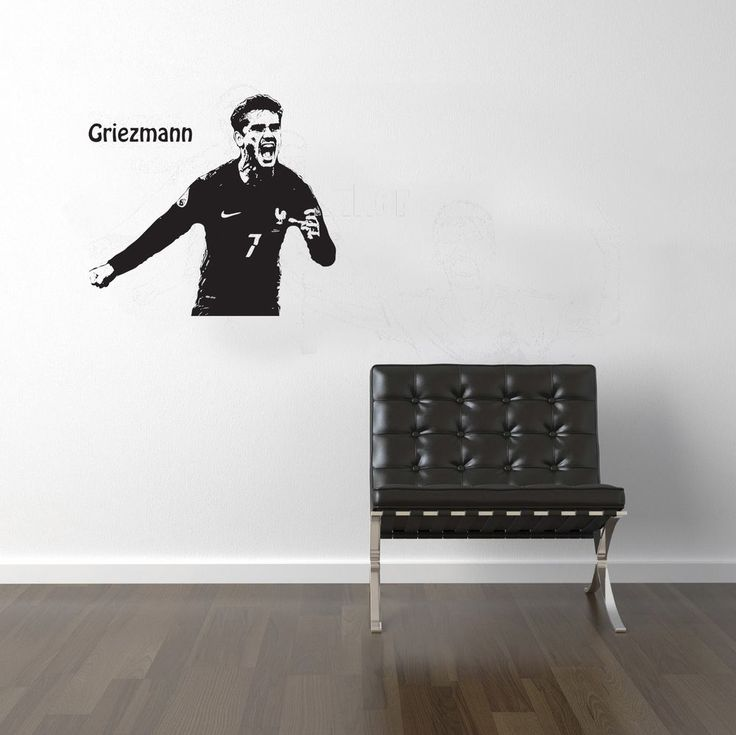FOOTBALLERS Griezmann Muller De Bruyne Hazard Mbappe WALL STICKER VINYL Decal in Home, Furniture & DIY, Home Decor, Wall Decals & Stickers | eBay!