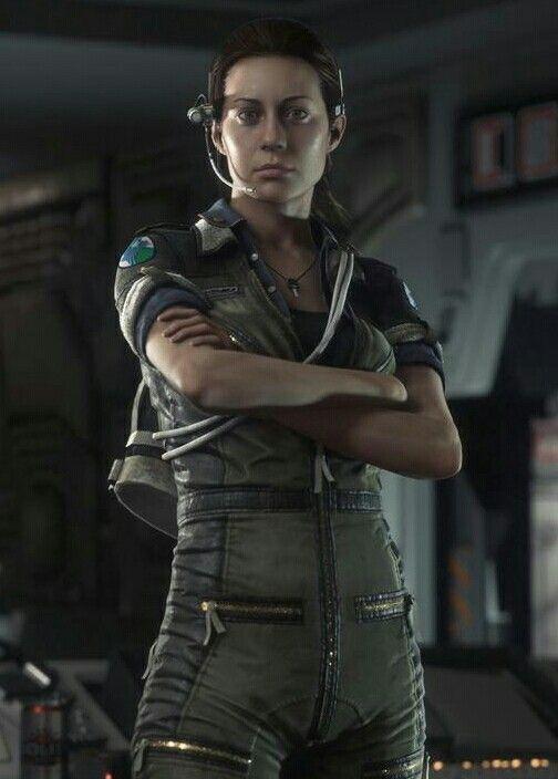 Amanda Ripley Alien Isolation