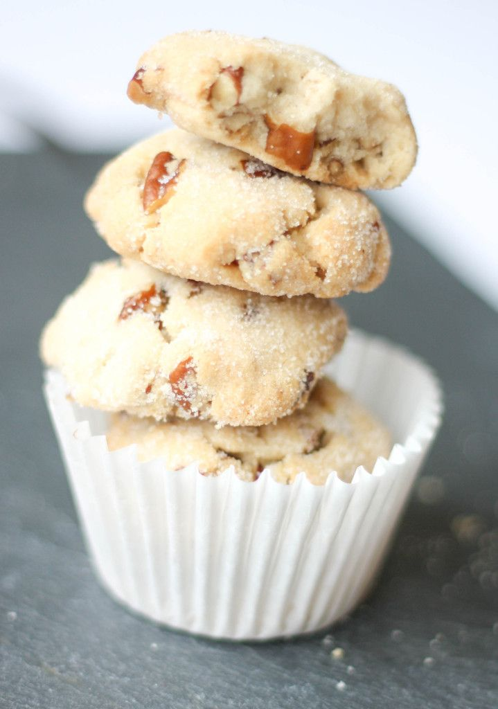 Butter pecan cookies perfect for tea time. Reward yourself! By Bake Bellissima, your source for good recipes.