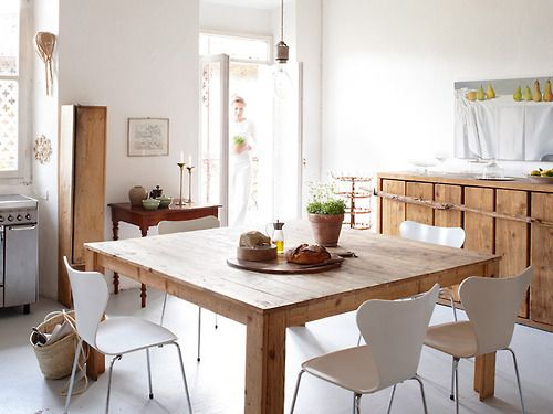 Square, dining table