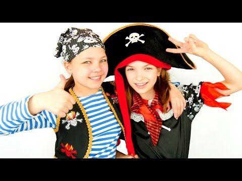 Игры для детей. Палундра - пираты! Лучшие подружки Настя и Света - YouTube