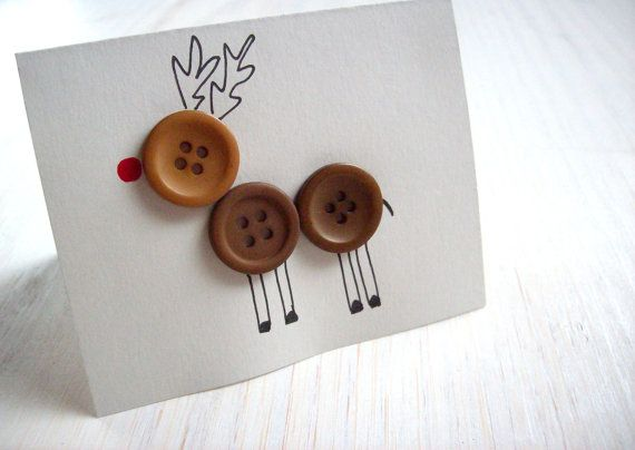 Reindeer Cchristmas cards