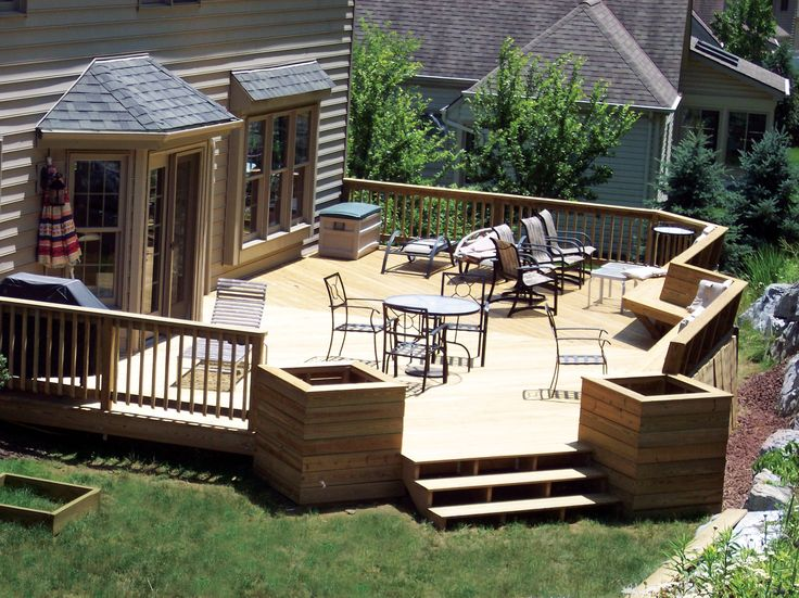find this pin and more on deck ideas patio deck designs - Backyard Patio Deck Ideas
