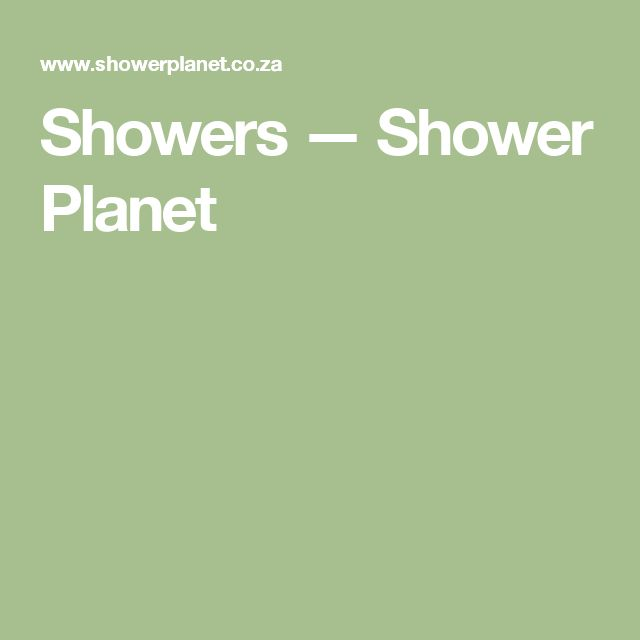 Showers — Shower Planet