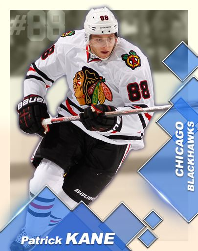 INTERNATIONAL - Kane Card #3 in Patrick Kane's Arcade Hockey.  Get 5000 Kane points to earn this baby, and unlock the International 3 on 3 tournament!  Get the game here http://www.dmc-ops.com/pkahstorelink.php