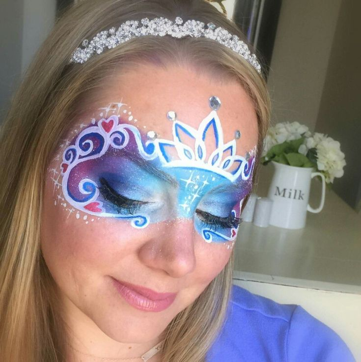 Lisa Joy Young Cinderella face paint schminkdesign