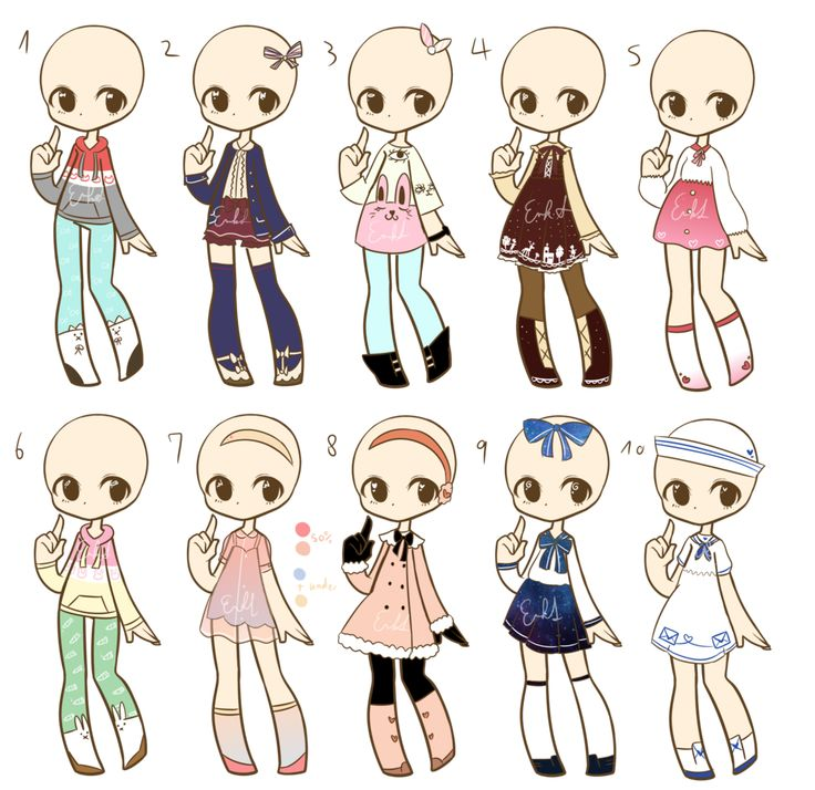 Outfit adopts batch 4 CLOSED by LukasB-adopts.deviantart.com on @DeviantArt | clothes drawing ...