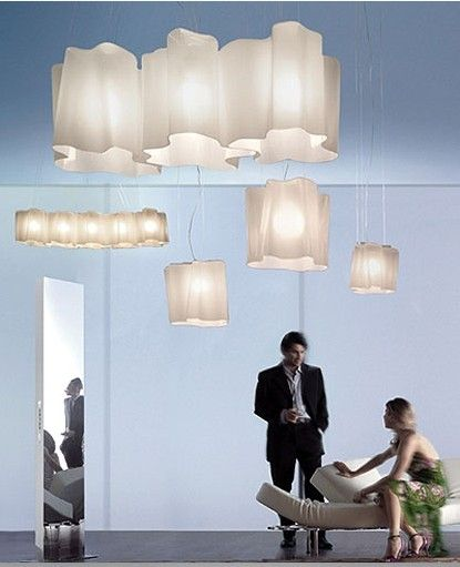 The Logico Triple Linear Pendant Light From Artemide Has Been
