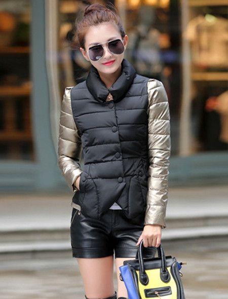 Spring Autumn Winter Jacket Women Basic Coats Long Sleeve Stand Collar Ladies Jacket Female Manteau Femme Black Gray Red