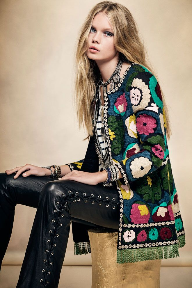 MYSTIC GIRL · Floral   We Love   Style   Fashion   Rapsodia.com