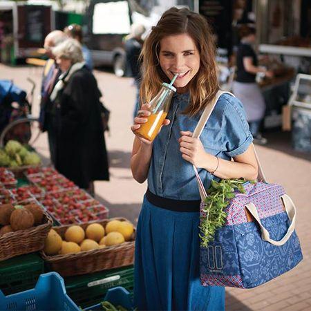 Avec son look moderne et trendy, la jolie sacoche vélo Basil Boheme vous accompagnera partout avec vous.  En vente sur hollandbikes.com
