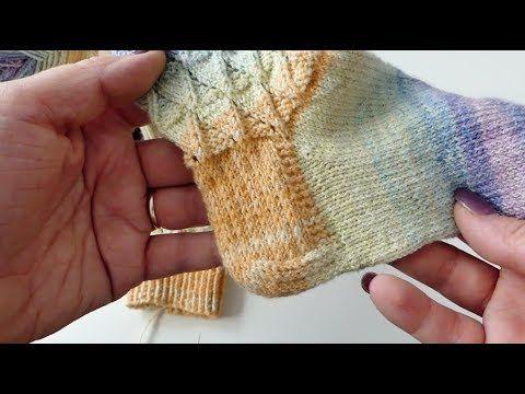 Socken stricken – Ferse