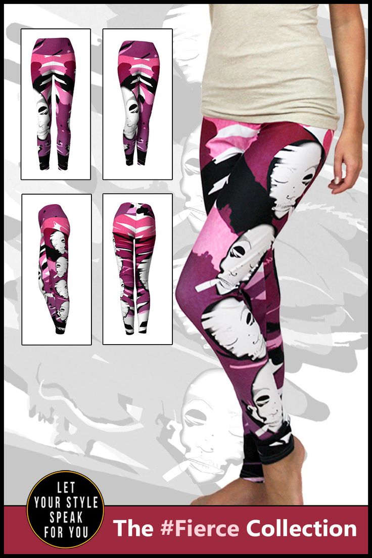 Make Me Up - Women's Yoga Leggings
