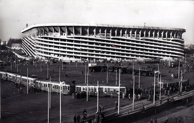 San Siro stadium before renovation