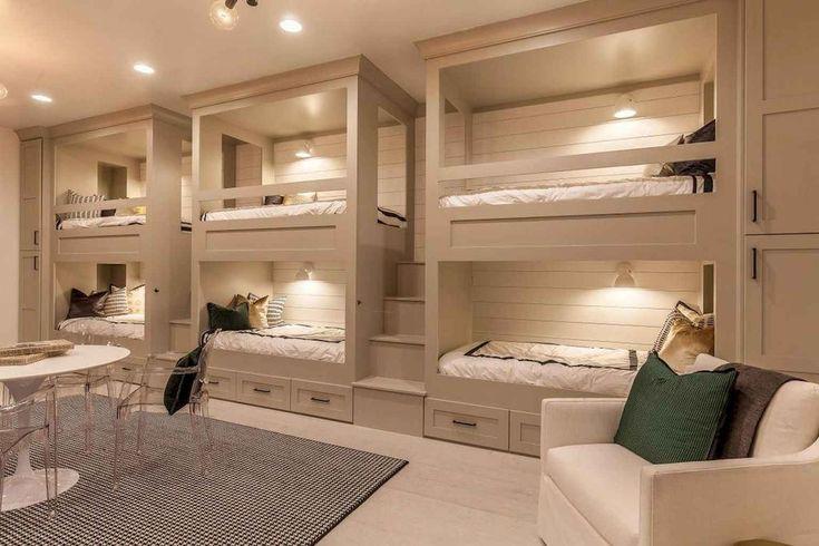 55 Modern Lake House Bedroom Ideas   – 505 Ranch