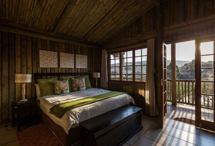 Relax and enjoy the beauty and serenity at Lake Eland in one of our 2 sleeper or family chalets. #LiveLoveLakeEland