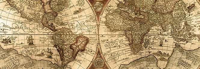 Mapa Múndi da antiguidade