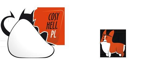 Nowa maskotka i logo bloga CosyHell.pl    A new mascot and a logo of CoyHell.pl blog.