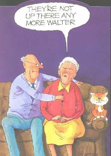 Sorry, it's just too funny. Old age humor : )