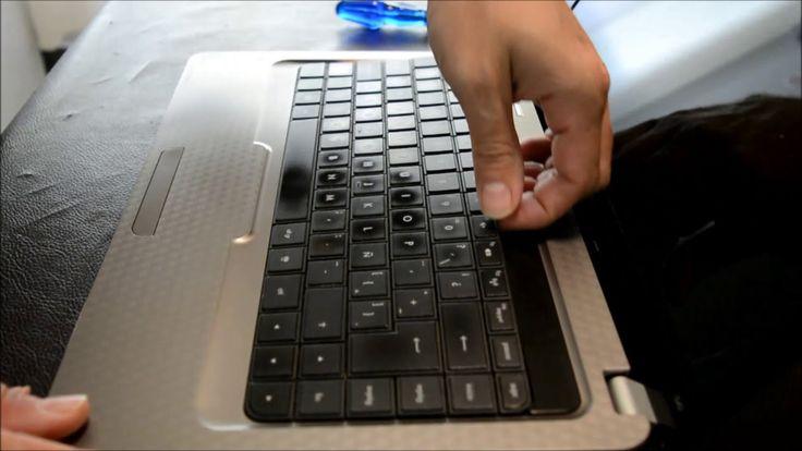 Cambiar teclado notebook HP G42