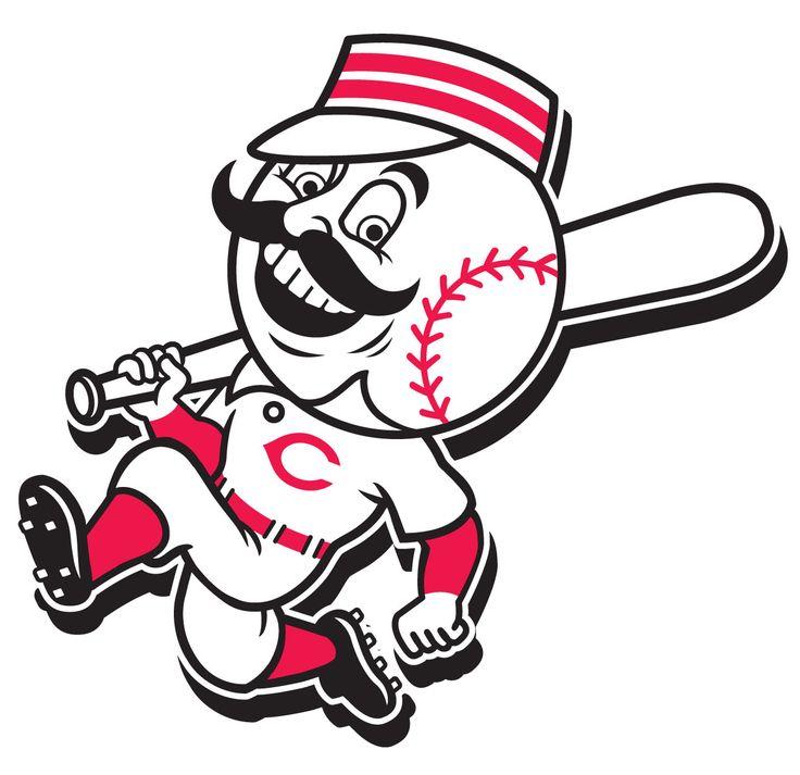 Mr. Redlegs Cincinnati Reds mascot. MLB Mascots