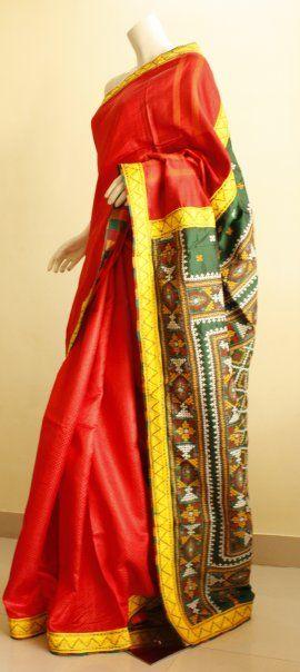 Another beautiful Mora sari