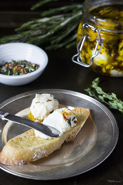 Labneh - A healthy and delicious yogurt cheese is easy to make and makes a wonderful breakfast item or snack!