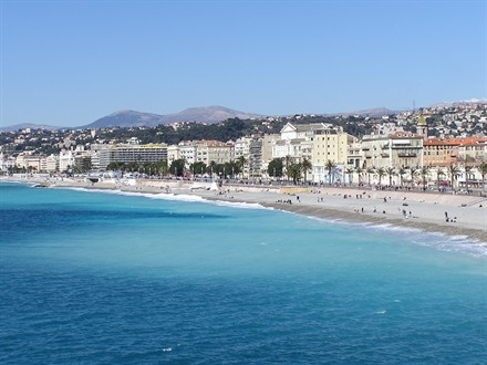 Nice, France! The Promenade is beautiful! Need to go back in warmer weather.
