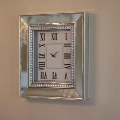 Väggklocka spegel Lyx 40 cm