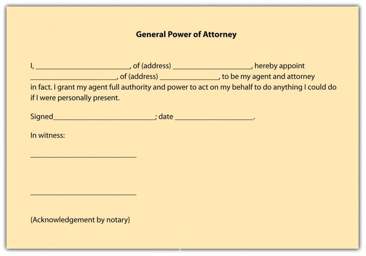 Printable Sample Power Of Attorney Form Free Printable Form