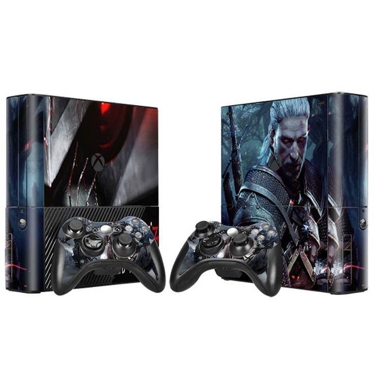>> Click to Buy << The Witcher high quality wrap covers vinyl material skin stickers for Xbox 360 E #Affiliate