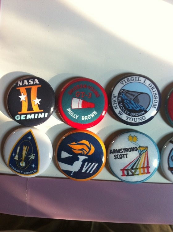 mercury nasa logos buttons - photo #13