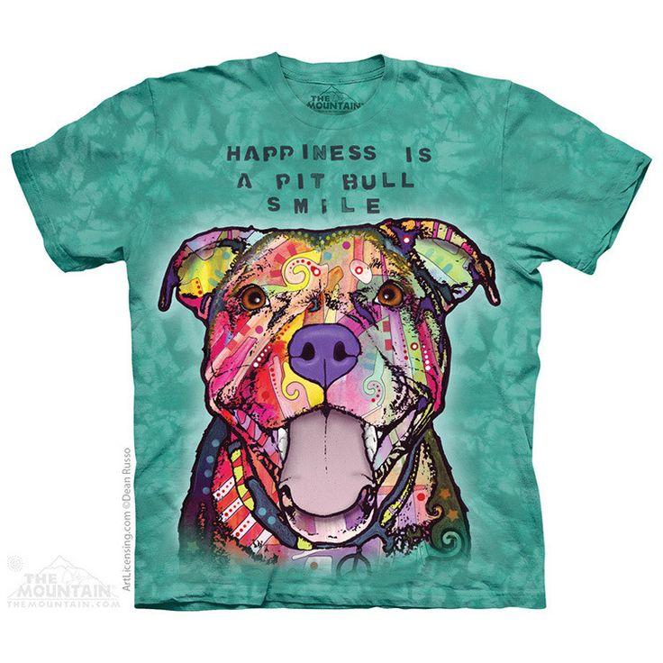Pit Bull Smile Kids T-Shirt