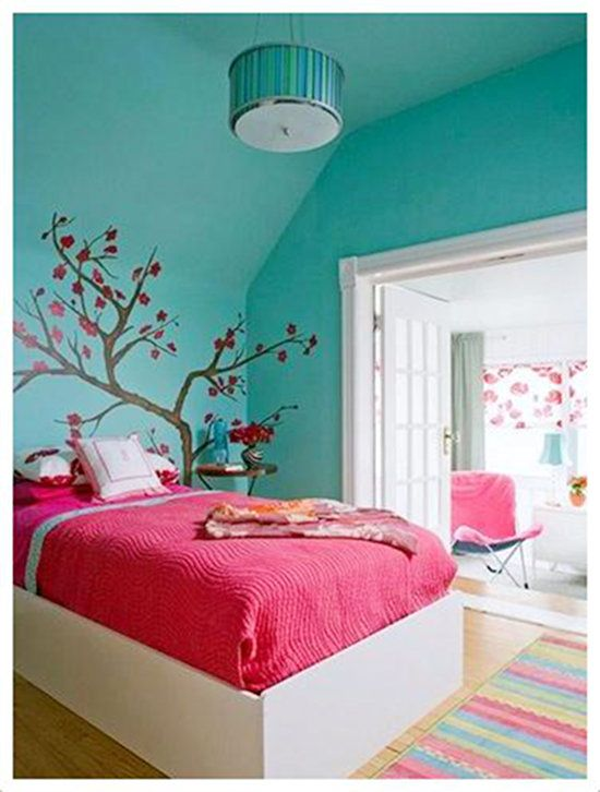 Em rita desastre decoraci n habitaciones para chicas for Habitaciones decoradas para jovenes