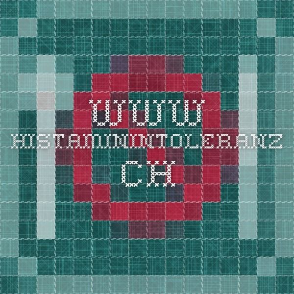 Histaminintoleranz Food List