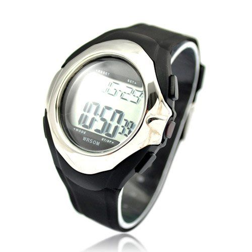 Bathroom Organization: Motion Plus Heart Rate Monitor Watch Silver >>> Learn more by visiting the image link.